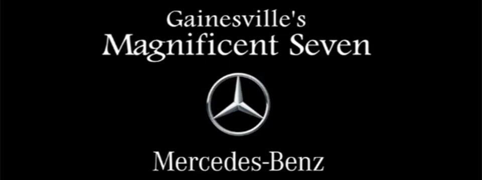 Gainesville 39 s magnificent seven ocala magazine for Gainesville mercedes benz