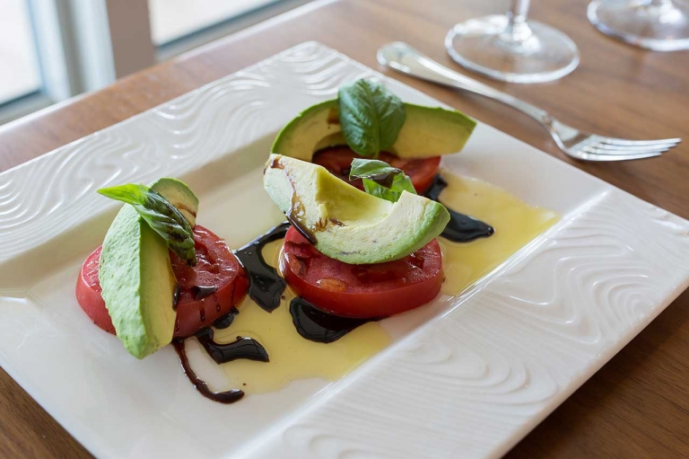 The Tomato and Avocado Salad simple, fresh and delicious.